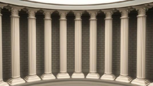 呆鸡哥干货分享:罗马柱木线条安装要点及注意事项!